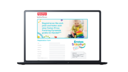 Fisher Price Promotion Digital Prepaid Cards